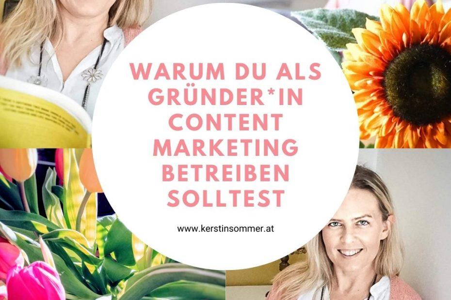 Content Marketing für Gründer