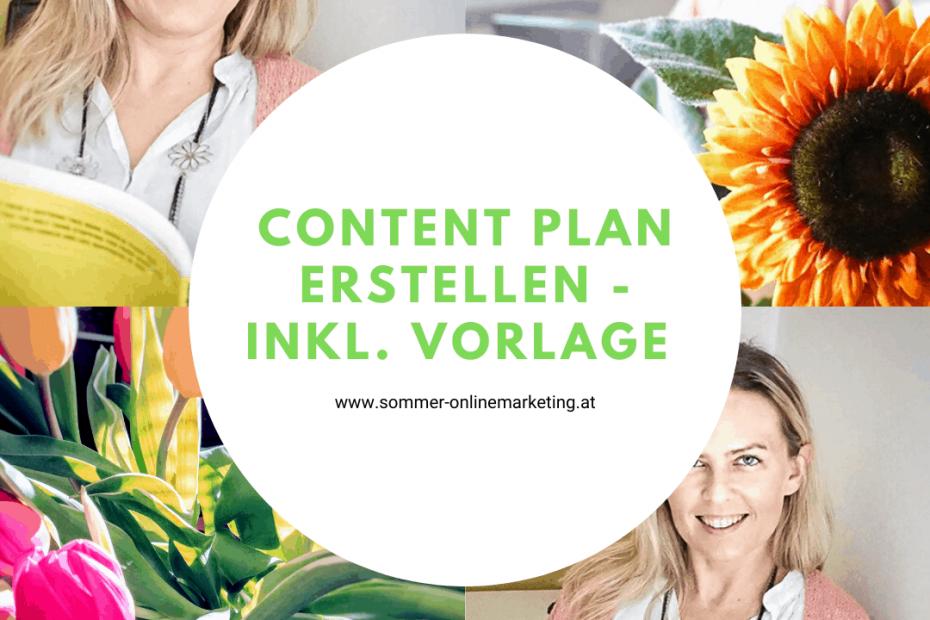 Estelle deinen Content Plan - inkl. Vorlage