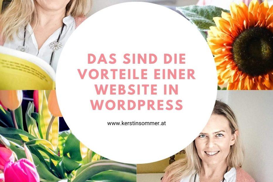 Wordpress Vorteile