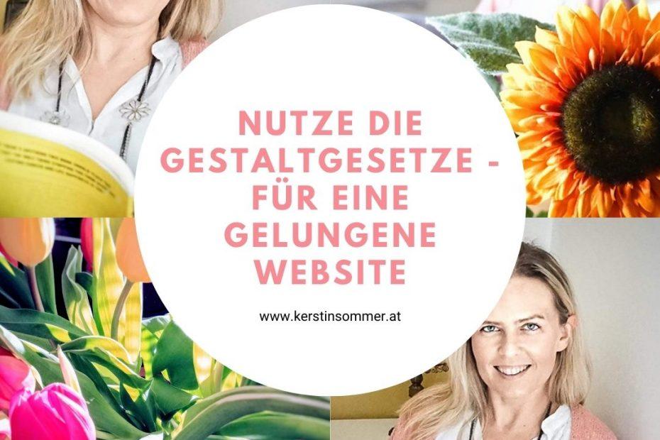 Tipps für die Gestaltung Website