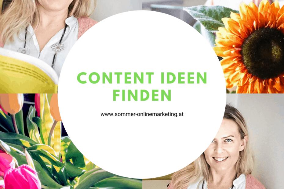 Tipps Content Ideen finden