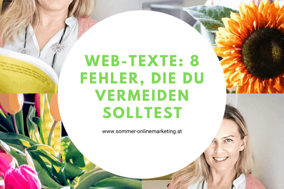 Web-Texte schreiben: Diese 8 Fehler vermeiden