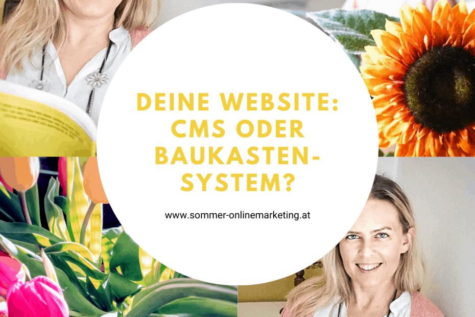 Website erstellen mit CMS oder Baukastensystem