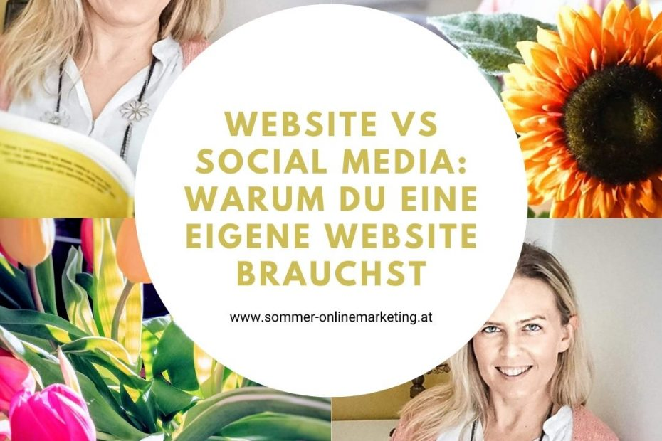 Eigene Website oder Social Media