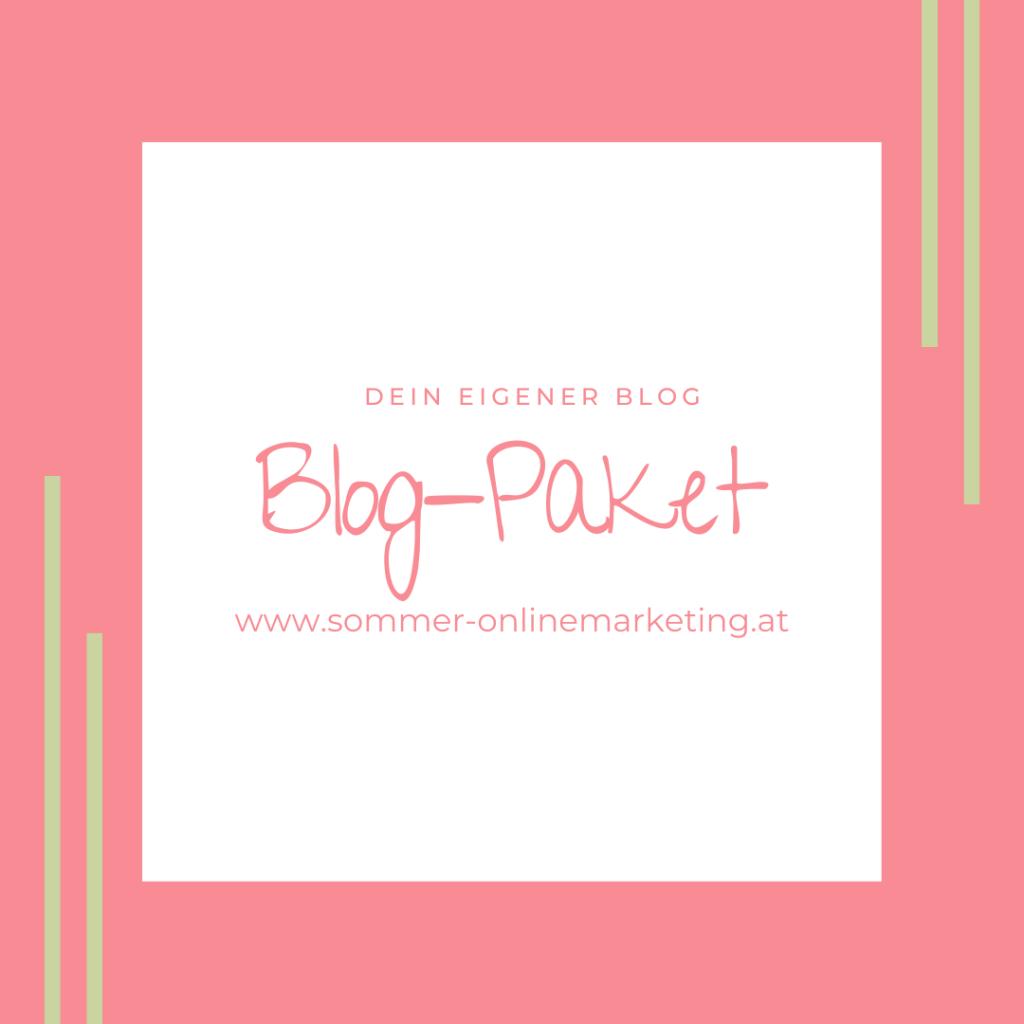 Dein eigener Blog