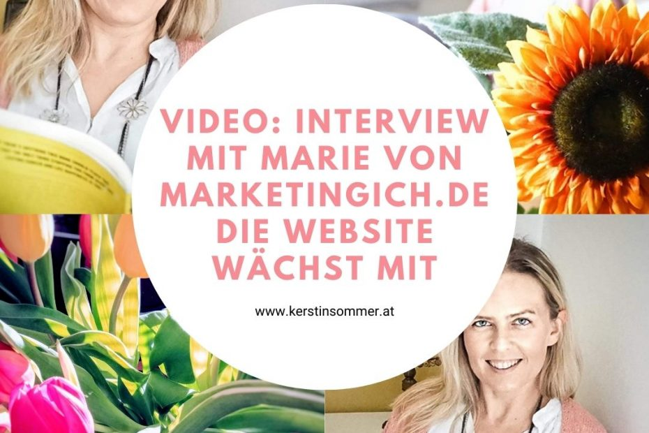 Website wächst mit Business