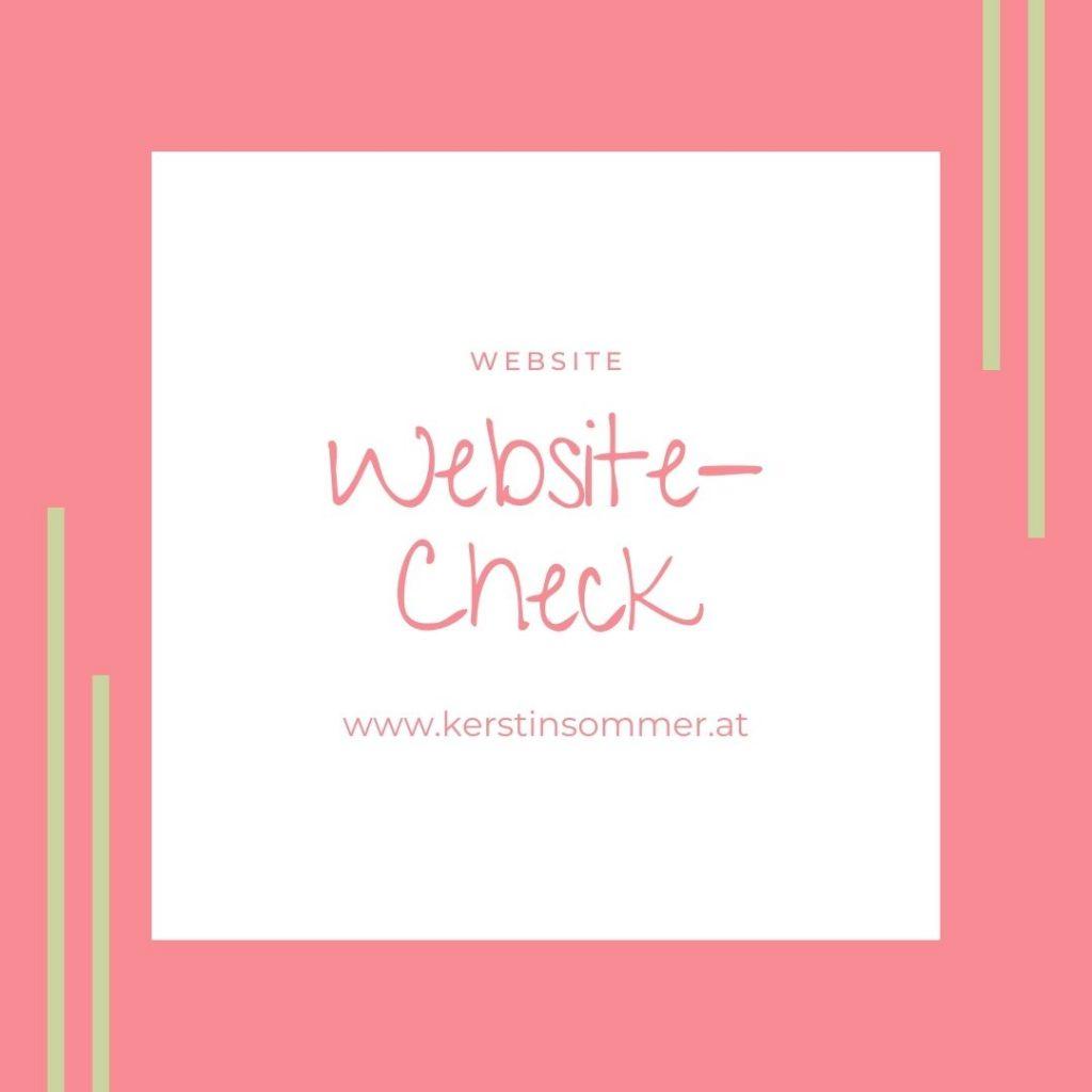 Lad deine Website vom Profi checken