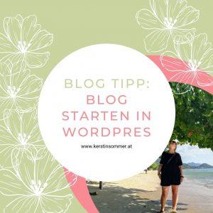 So startest du deinen Blog in WordPress