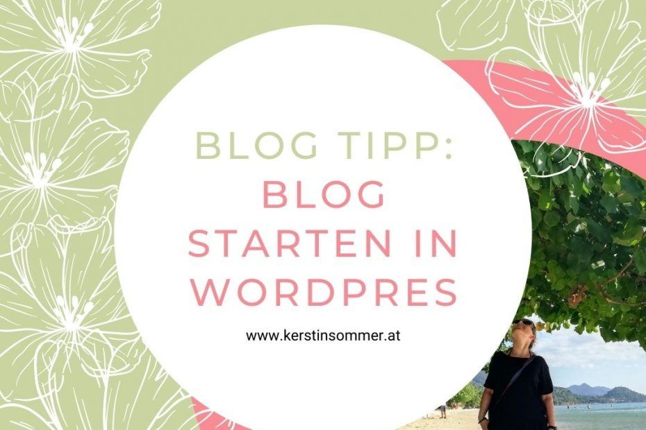 So startest du deinen Blog in WordPress