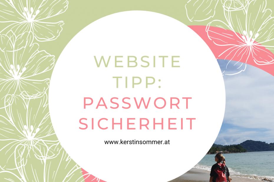 Passwort Sicherheit in WordPress prüfen