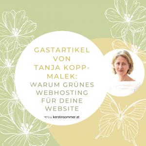 Grünes Webdesign