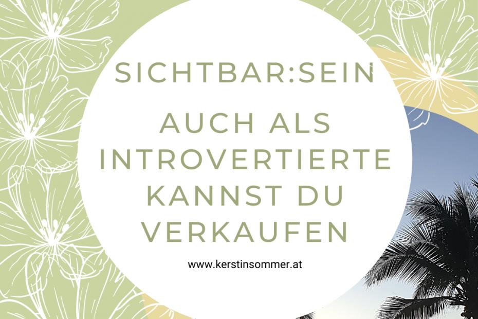 Verkaufen als Introvertierte Frau